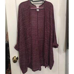 Tops - Knit Kimono